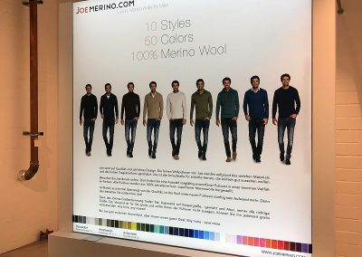 Joe Merino. Image-Frame Power LED 2200x2200mm
